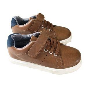 Harper Canyon Boys Shoes Brown Casual Dress Sz 9